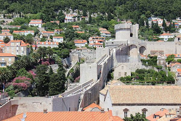 Croatia, Dubrovnik-120613-200-明闕塔守望塔