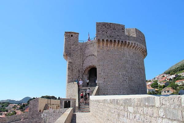 Croatia, Dubrovnik-120613-271-明闕塔守望塔