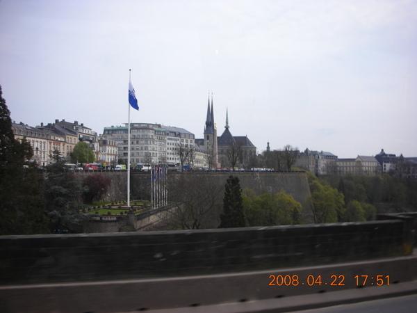離開盧森堡~前往比利時布魯塞爾囉!