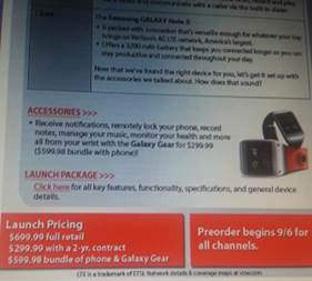 Note3美國售價
