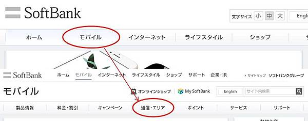 softbank首頁