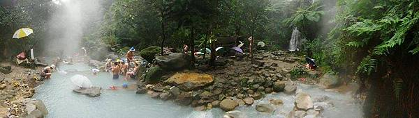 八煙野溪溫泉