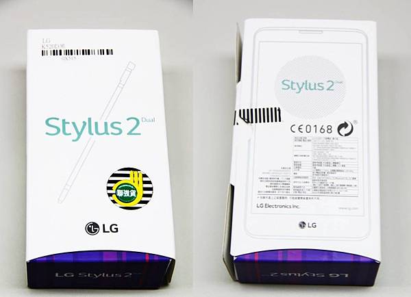 LG STYLUS2外盒