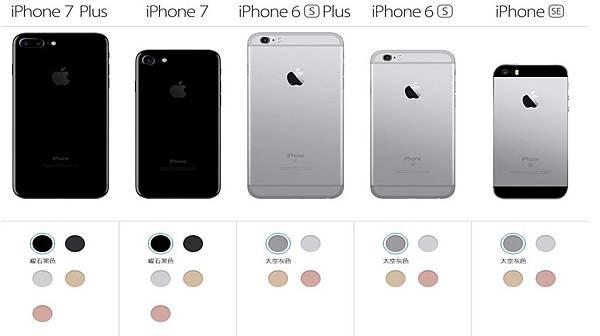 I7外型比較