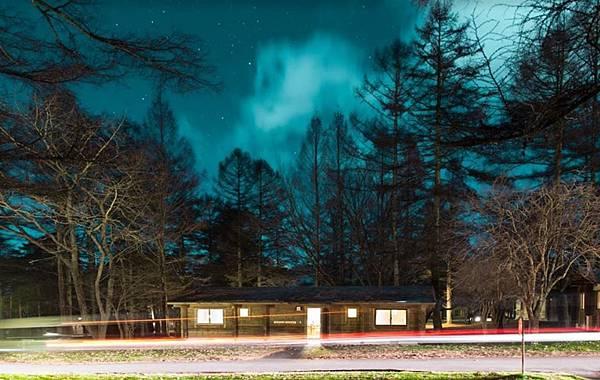 小木屋夜景