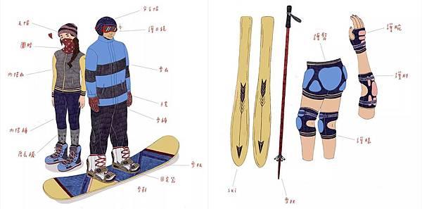 滑雪裝備1