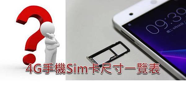 SIM卡尺寸