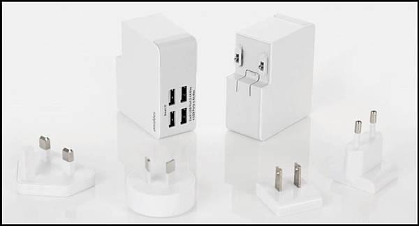 4埠充電器A