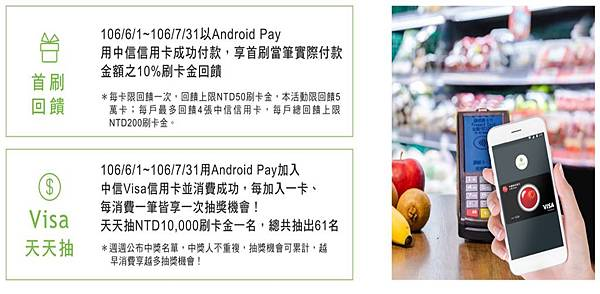ANDROID PAY中信