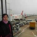 已經到了London Heathrow airport.JPG