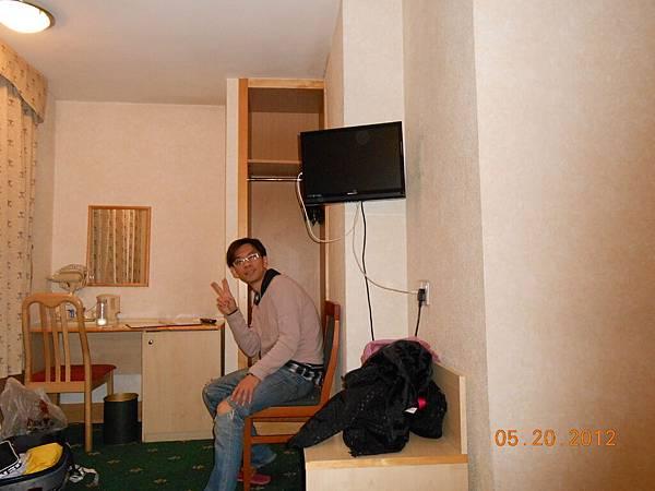 旅館不大但該有的都有.JPG