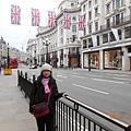 後方就是Regent Street.JPG