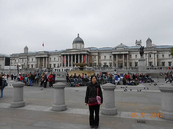 到了Trafalgar Square.JPG