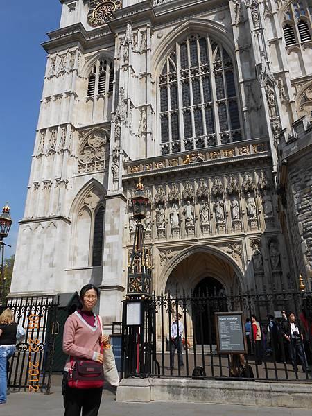 Westminster Abbey囉.JPG