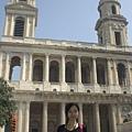 Da Vinci Code裡的玫瑰線教堂阿.JPG