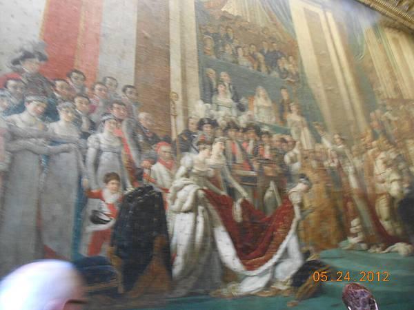 有名的拿破崙的加冕