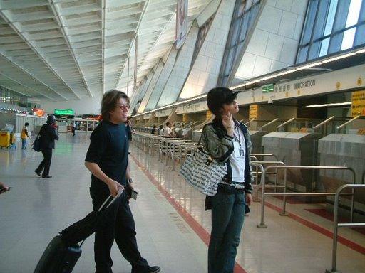 中正機場巧遇日本miyavi雅