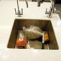中島吧檯槽+三用水龍頭
