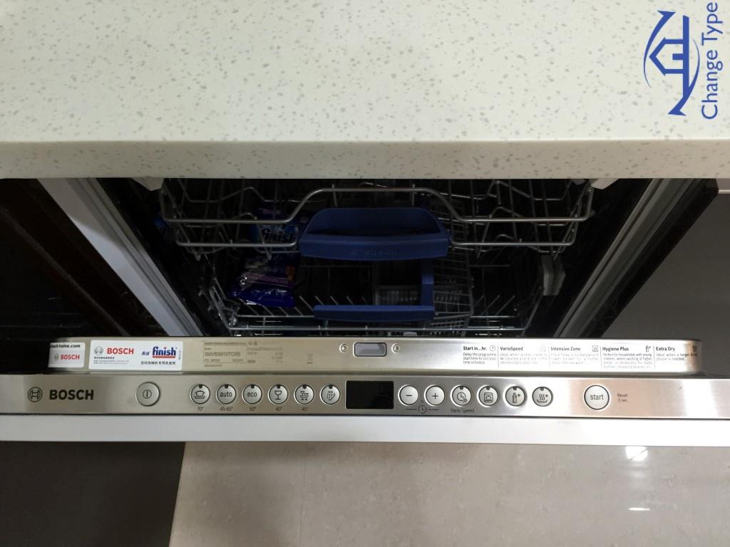 德國BOSCH嵌門式洗碗機