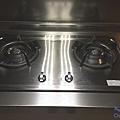 櫻花牌不鏽鋼質感檯面爐