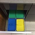 櫥下型分類桶