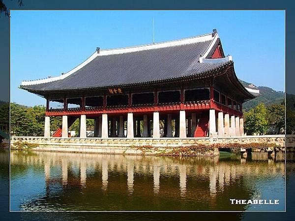 景福宮內最美的一角_慶會樓