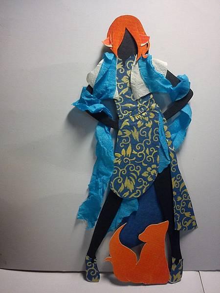 服裝設計作業 小狐狸
