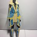 服裝設計作業 藍