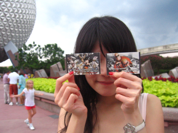 First Day~Epcot