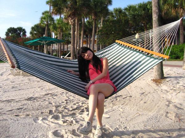 08/27 我們飯店旁的小白沙灘