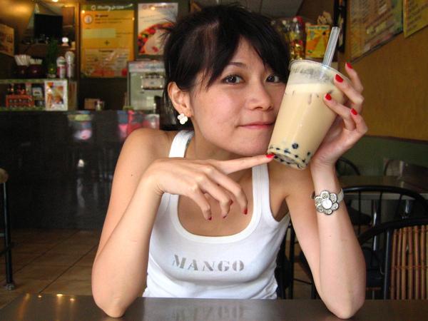 看!!!是珍奶!!!....Got Tea~傳說中的建民鹽酥雞