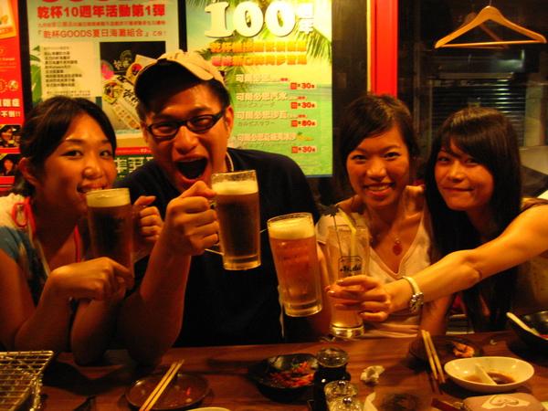 這三個酒鬼太厲害了啦!!!!