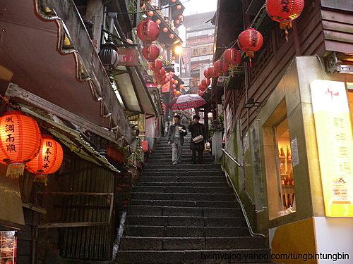 台北瑞芳鎮九份老街