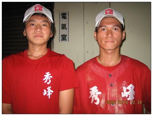 061019-秀峰黃氏兄弟檔 攜手勇闖棒球路