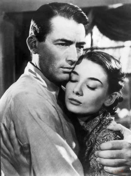 奧黛莉赫本 Gregory Peck