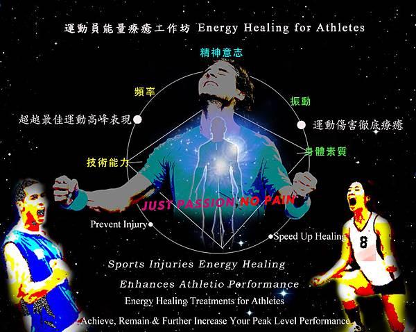 運動員潛能提昇及運動傷害療癒 Energy Healing for Athletes