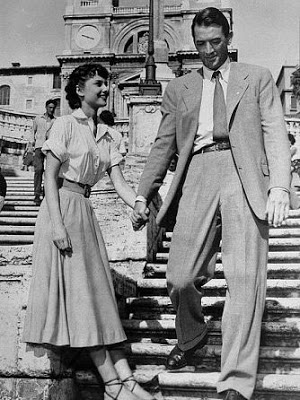 audrey hepburn & gregory peck(roman holiday)