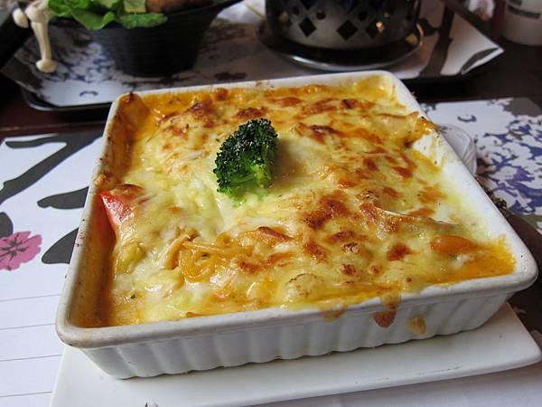 我的海鮮乳酪起司義大利麵