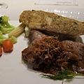 主餐:海陸雙拼(魚+犢牛)