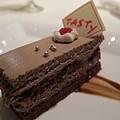 甜點:巧克力咖啡蛋糕