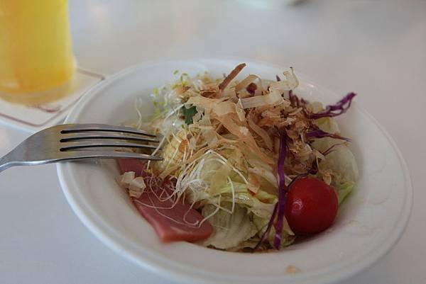 前菜-和風沙拉