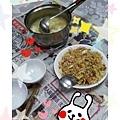 培根蛋炒飯&豆腐蛋花湯(2012.09.23)