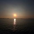 布袋港黃昏美景