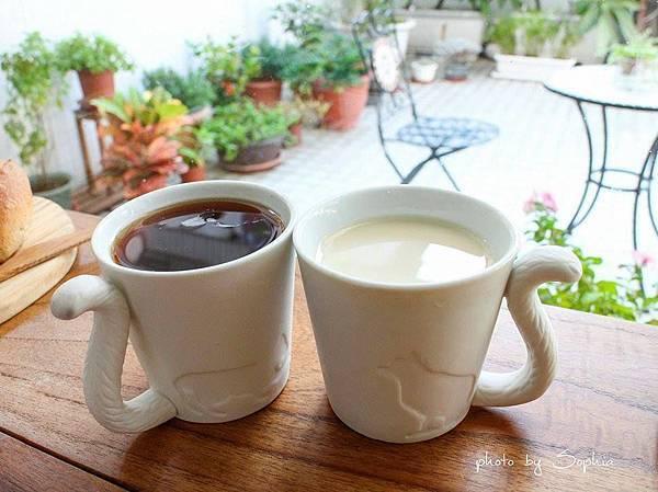 紅茶&柴燒豆漿