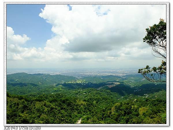 觀日亭前風景