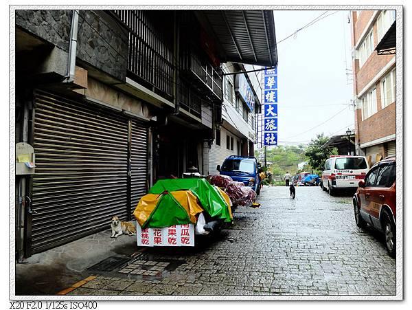 住宿區街上
