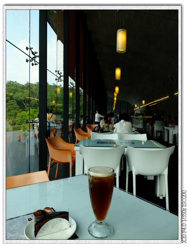 向山遊客中心咖啡廳