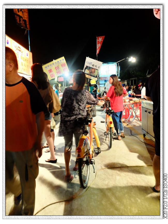 太原美食夜市-騎i-bike來逛夜市