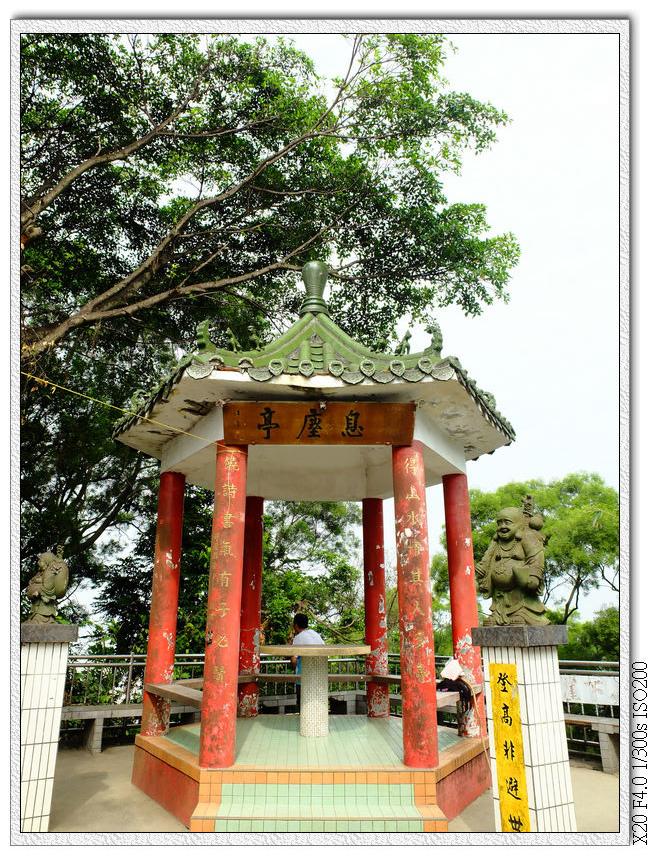 玉佛寺的涼亭