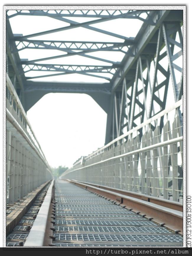 虎尾糖廠百年鐵橋,重點是三軌